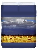 Rolling On Duvet Cover by Holly Kempe