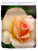 Rose is a Rose is a Rose Duvet Cover by Christine Till