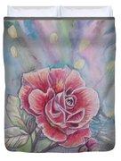 Rose Duvet Cover by Laura Laughren
