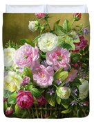 Roses  Duvet Cover by Albert Williams