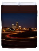 Round The Bend Duvet Cover by Jonas Wingfield