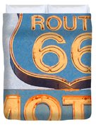 Route 66 Motel Seligman Arizona Duvet Cover by Wingsdomain Art and Photography