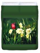 Royal Spring Duvet Cover by Steve Karol