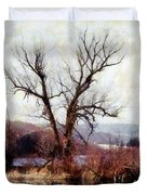 Rustic Reflections Duvet Cover by Janine Riley
