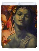 Rustle Duvet Cover by Dorina  Costras
