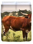 Rusty Duvet Cover by Tamyra Ayles