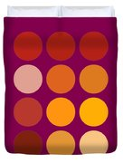 Saffron Colors Duvet Cover by Frank Tschakert