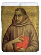 Saint Anthony Abbot Duvet Cover by Giotto di Bondone