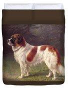 Saint Bernard Duvet Cover by Heinrich Sperling