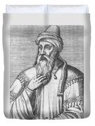 Saladin, Sultan Of Egypt And Syria Duvet Cover by Photo Researchers