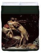 Samson Duvet Cover by Solomon Joseph Solomon