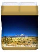 San Francisco Peaks Duvet Cover by Jerry Bokowski