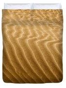 Sand Dune Mojave Desert California Duvet Cover by Christine Till