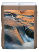 Sandstone Reflections Duvet Cover by Mike  Dawson