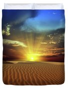 Sandy desert Duvet Cover by MotHaiBaPhoto Prints