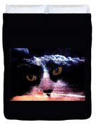 Sandy Paws Duvet Cover by Clayton Bruster