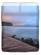 Santa Barbara Beach Duvet Cover by Gaspar Avila