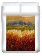 Santa Rosa Valley Duvet Cover by Shannon Grissom