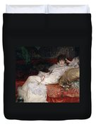 Sarah Bernhardt Duvet Cover by Georges Clairin