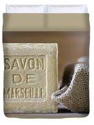 Savon De Marseille Duvet Cover by Frank Tschakert
