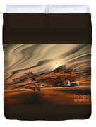 Scadlands Duvet Cover by Corey Ford