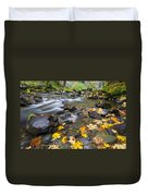 Scattered About Duvet Cover by Mike  Dawson