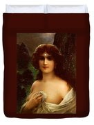Sea Nymph Duvet Cover by Emile Vernon