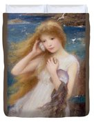 Sea Nymph Duvet Cover by William Robert Symonds