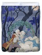 Secret Kiss Duvet Cover by Georges Barbier