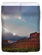 Sedona Drama Duvet Cover by Dave Dilli