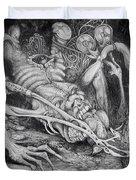 Selfpropelled Beastie Seeder Duvet Cover by Otto Rapp