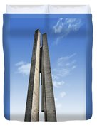 Shanghai - Monument To The People's Heroes Duvet Cover by Christine Till