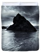 Shaping the Heavens Duvet Cover by Mike  Dawson