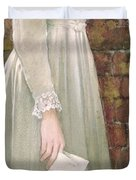 Silent Sorrow Duvet Cover by Walter Langley