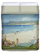Silver Sands Duvet Cover by Charles Edward Conder