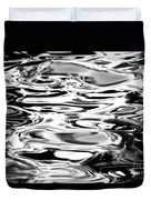 Silvery Water Ripples Duvet Cover by Dave Fleetham - Printscapes