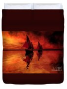 Siren Song Duvet Cover by Corey Ford
