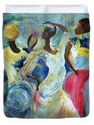 Sister Act Duvet Cover by Ikahl Beckford