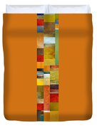 Skinny Color Study L Duvet Cover by Michelle Calkins