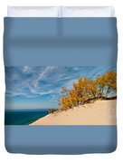 Sleeping Bear Overlook Duvet Cover by Larry Carr