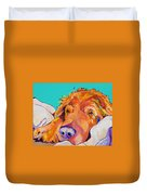 Snoozer King Duvet Cover by Pat Saunders-White