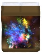 Solaris Nebula Duvet Cover by Corey Ford
