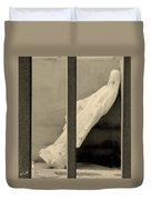 Solitary Confinement Duvet Cover by Ed Smith