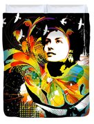 Soul Explosion II Duvet Cover by Chris Andruskiewicz