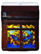 South Street Window Duvet Cover by Bill Cannon