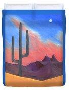 Southwest Scene Duvet Cover by J R Seymour