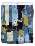 Spa Abstract 2 Duvet Cover by Debbie DeWitt