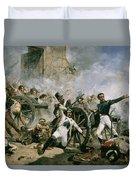 Spanish Uprising Against Napoleon In Spain Duvet Cover by Joaquin Sorolla y Bastida
