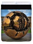 Sphere Within Sphere Duvet Cover by Inge Johnsson