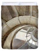 spiral stairway Duvet Cover by Carlos Caetano